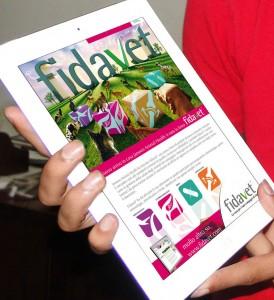 Newsletter seriale di prodotto settore ANIMAL HEALTH