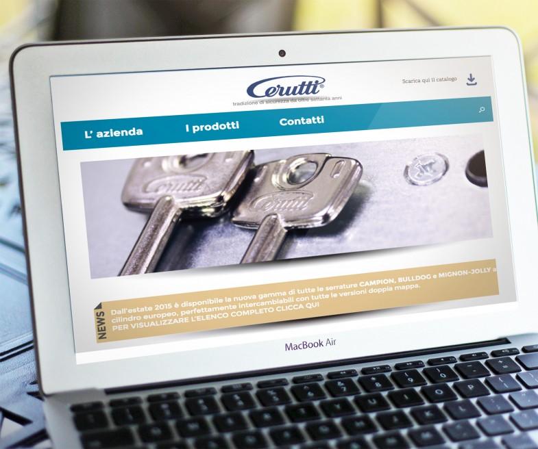 CERUTTI sito web